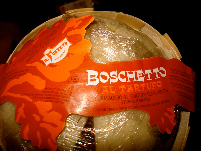 The packaging for Boschetto