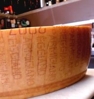 Parmigiano, pre-op