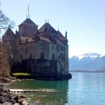 The château of Chillon.