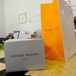 Pierre Hermé's gorgeous packaging.