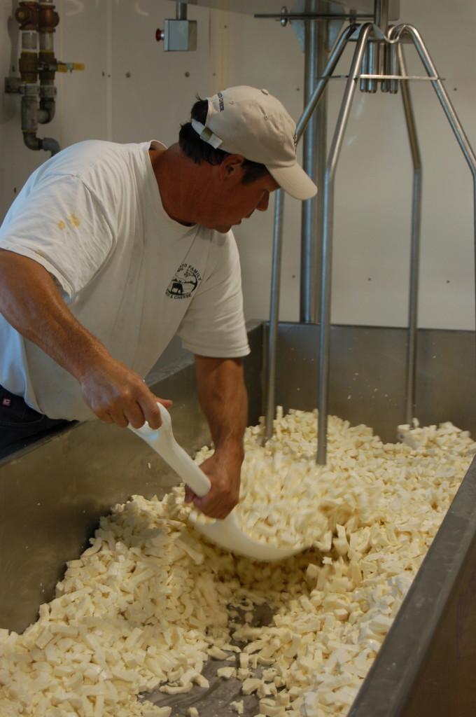 Dave Ballard of Ballard Family Dairy and Cheese in Idaho.