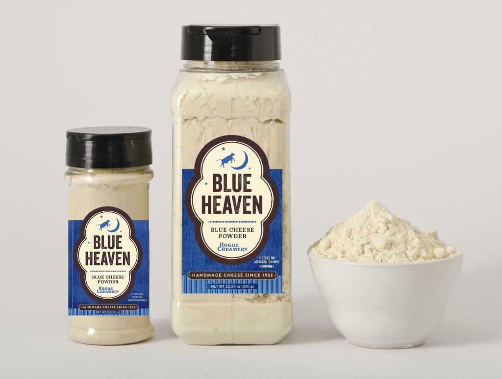 Or maybe you want a powdery snow of blue cheese to put over everything? Photo courtesy of Rogue Creamery.