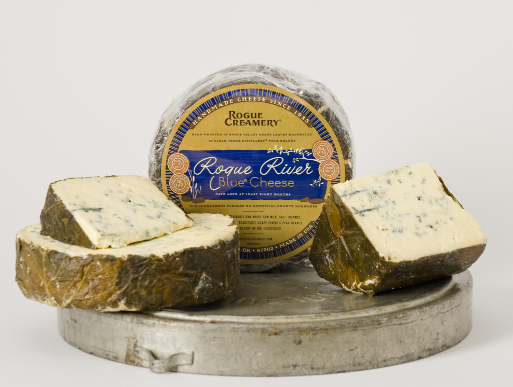 Rogue River Blue. You know you want it. Or you know someone who does. Photo courtesy of Rogue Creamery.
