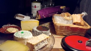 A fine collection of French cheeses!