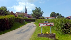 Camembert, the birthplace of Camembert cheese.