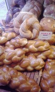 Beautiful breads at Sacha Finkelstein.
