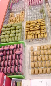 So many macarons! So much self control needed!