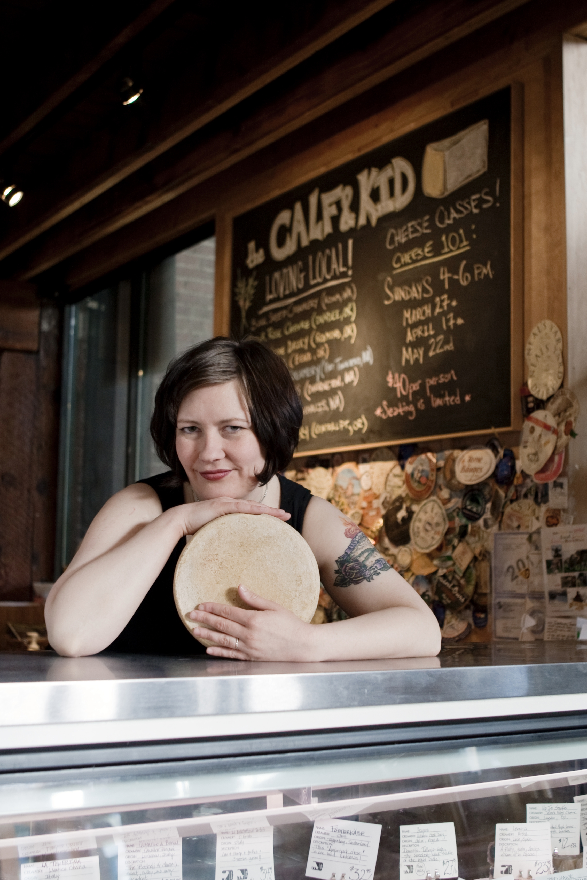 Sheri LaVigne, Owner of The Calf & Kid in Seattle.