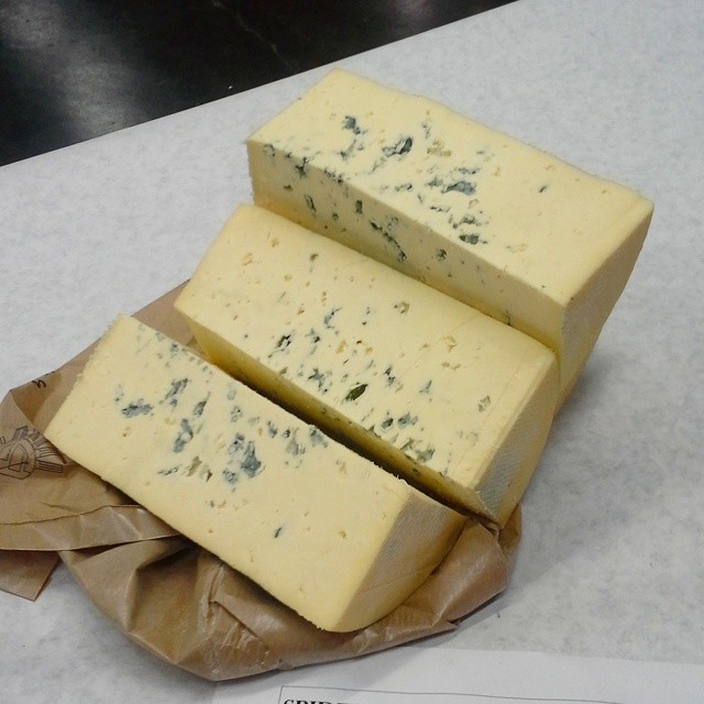 Prepping lots of #bayleyhazenblue #cheese. #cheesesociety14 #Sacramento