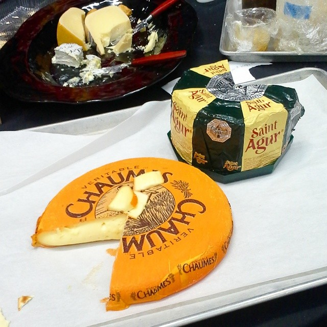 #leftovers from #cheesesociety14. And then some. #cheeselove #cheese #cheeselife
