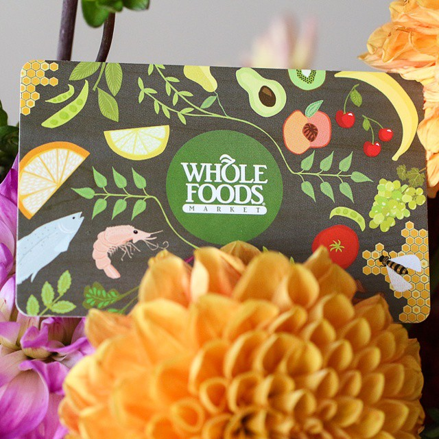 Hey guys! I'm giving away this $50 gift card to #wholefoods on my #facebook page! Head over to https://www.facebook.com/misscheesemonger to enter. You have until October 2nd! #giveaway #freestuff #misscheesemonger