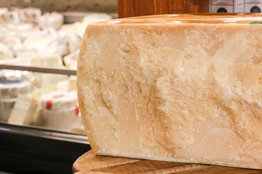 Have you ever wondered how a wheel of Parmesan is opened?