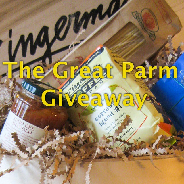 Hey-o! My #parmesan #giveaway to celebrate #parmesannight ends tomorrow! You can still enter on my blog. The link is in my profile. Go to