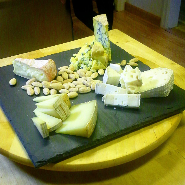 The #cheeseplate for today's shoot with @zilla308! #readyformycloseup #cheeselife #blogging #vlogging #documentary #slateme