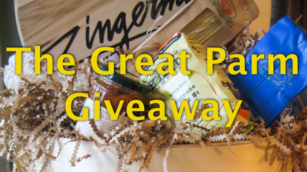 The Great Parm Giveaway on Misscheesemonger.com!