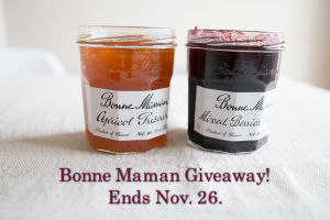 Enter The Bonne Maman Giveaway!