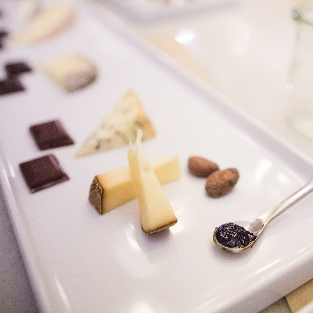 A #chocolate and #cheese pairing event with @dandelionchocolate and @vagabondcheese ! #yum #sf #pairswithcheese #foodwithfriends #gourmand #gourmet #delicious