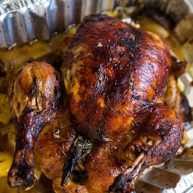 This #thanksgiving, we traded a turkey for #capon. #leftovers #foodwithfamily #foodwithfriends #foodblog #foodphotography #foodphotos #foodstagram #instafood #chapon #happythanksgiving