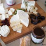 An All-California Cheese & Fig Platter