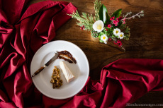 Fromager d'Affinois, Noci Foods Walnut Terrazzo, Valley Fig spread. Floral Arrangement By Chloris Floral.