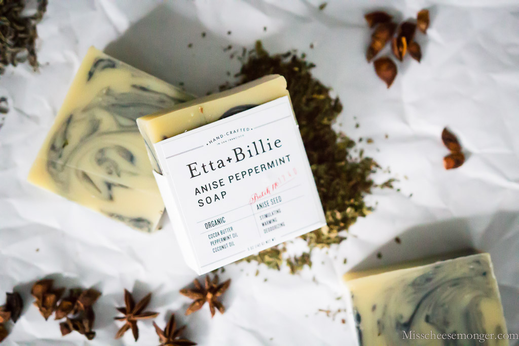 Etta + Billie's Anise Peppermint Soap With Star Anise.