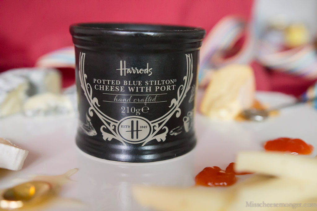 Potted Stilton WIth Port.