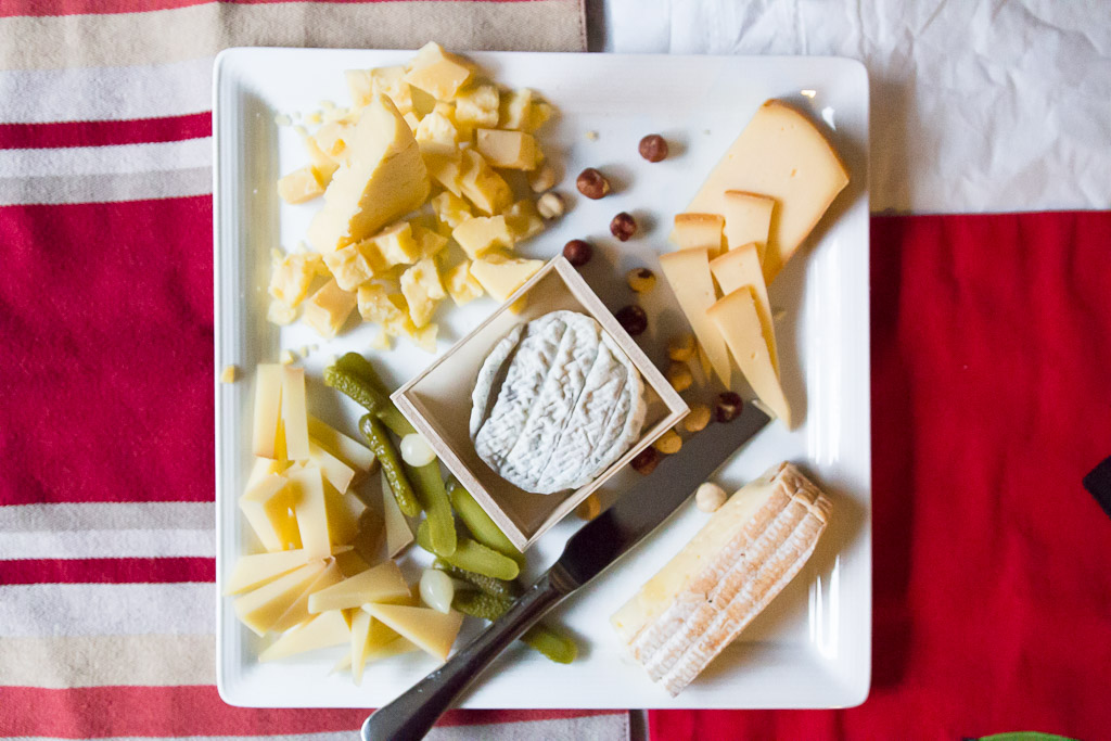 The cheese plate!