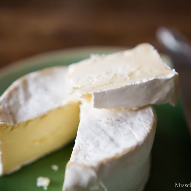 Here's the open #doublecream #cheese made by @laviesoleil. Very tasty!  #foodblog #foodblogger #foodphotography #foodpics #gourmet #gourmand #deliciousness #latergram #snacktime