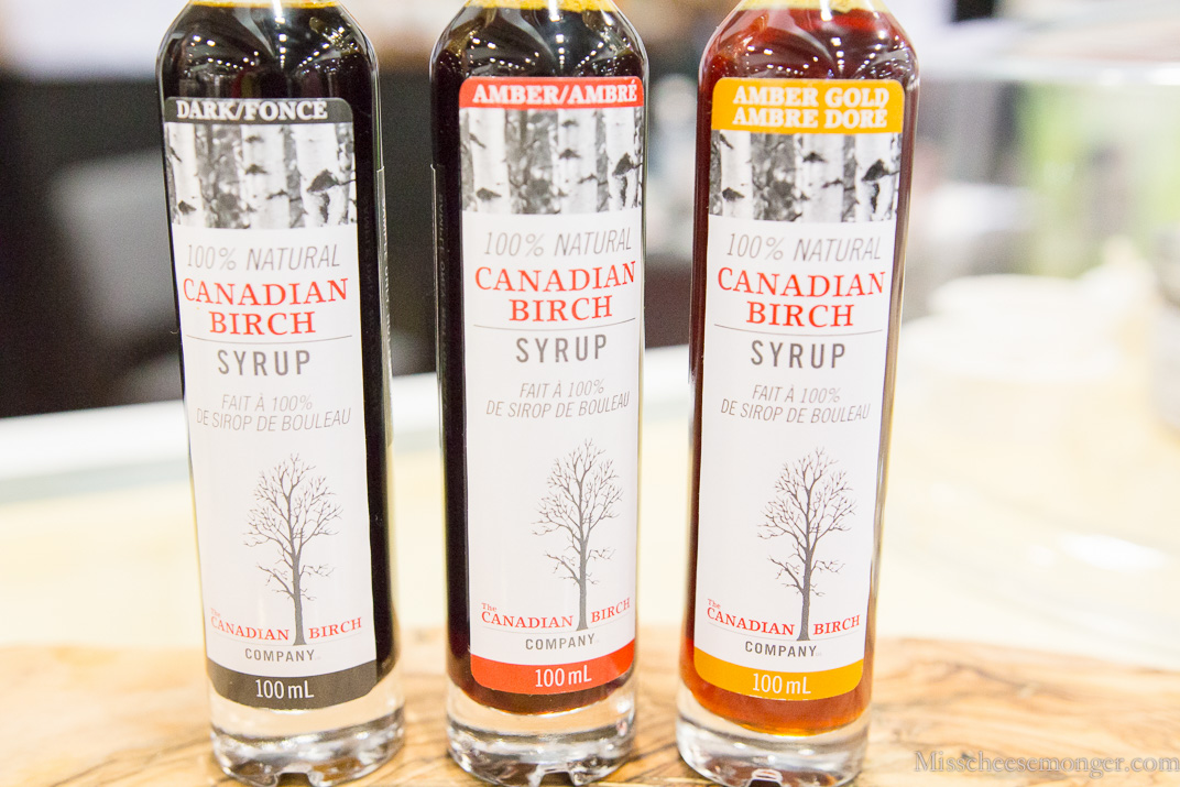Canadian Birch syrup. SO tasty!
