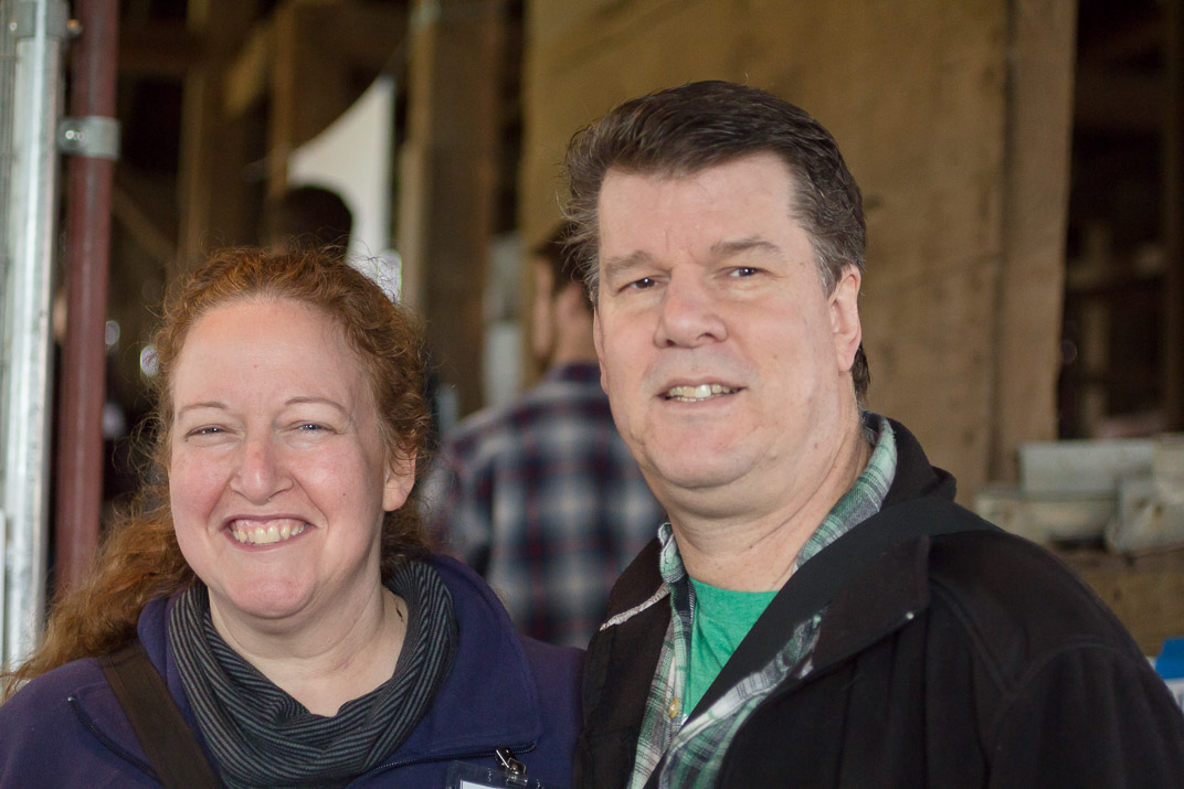Sarah Marcus and Jim Hoffman of Briar Rose Creamery in OR paid us a visit!