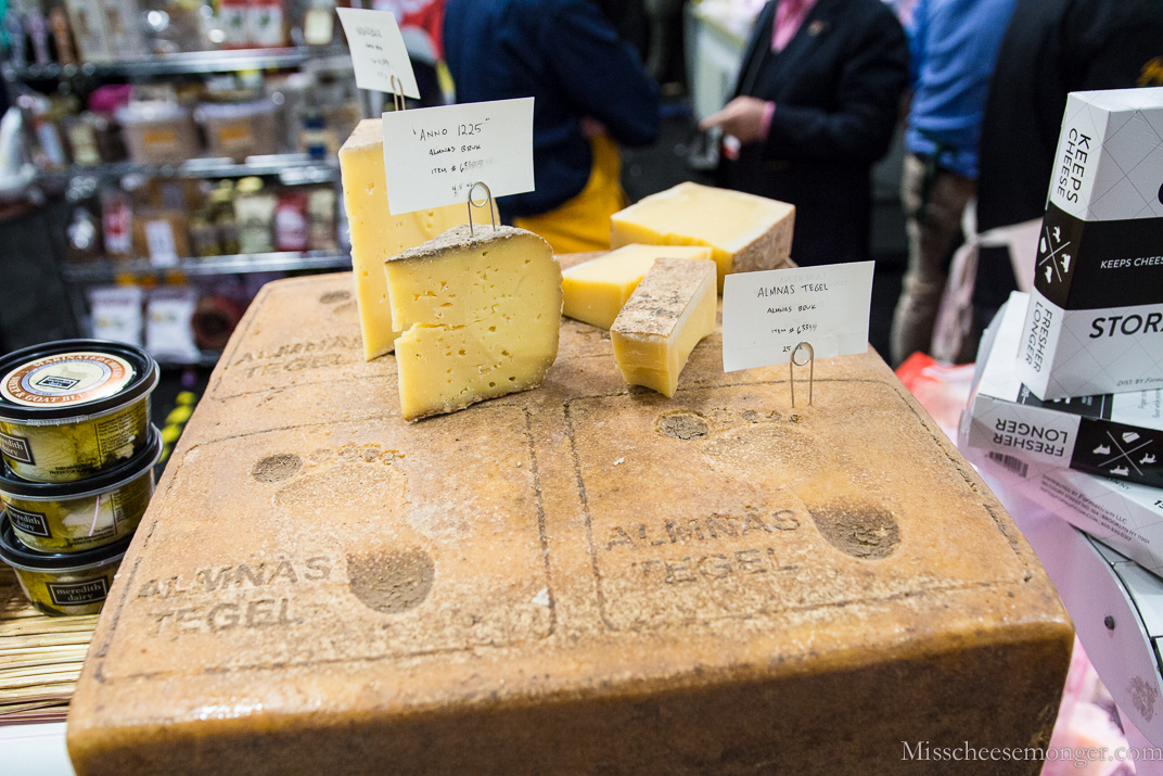 That huge block of cheese? It's Almnäs Tegel!
