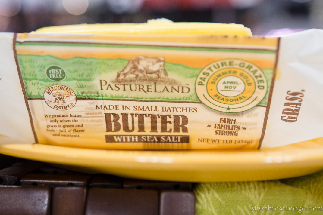 Salted butter. You can never have too much salted butter, especially from PastureLand.
