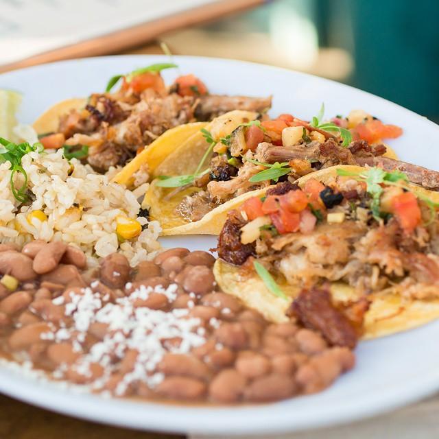 . . . the #porkbelly #tacos at @blueplatetaco were pretty #tasty, too! #santamonica #la #socal #foodpics #instafood #latergram #diningout #somanytacos #foodblogger