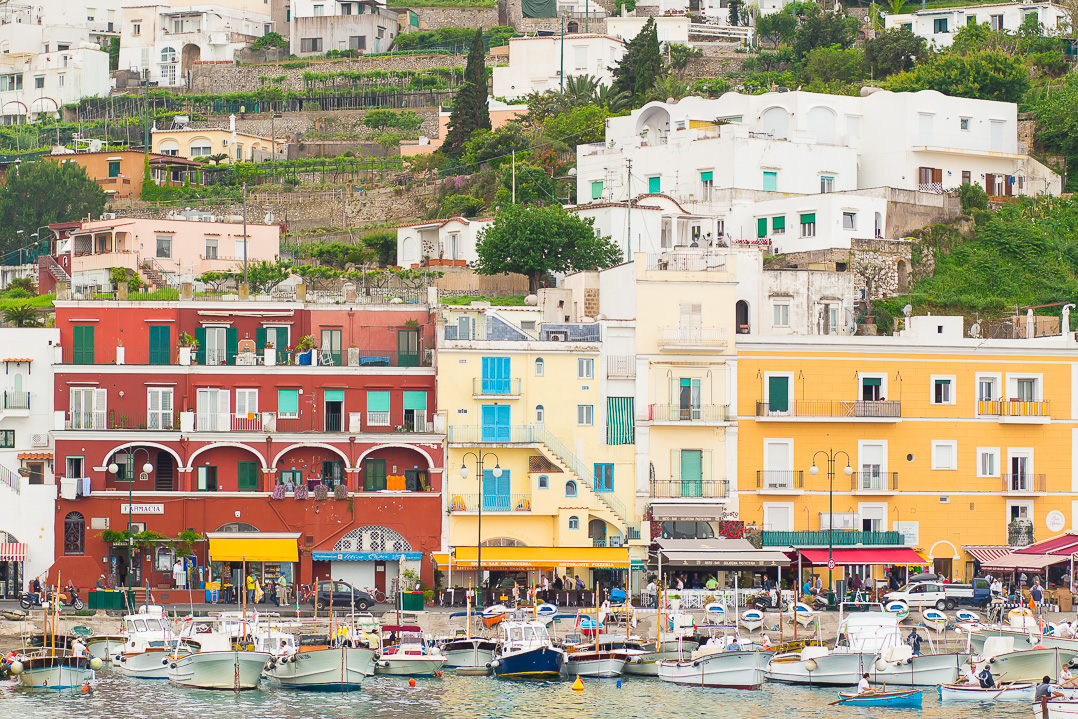 The Marina Grande of Capri!