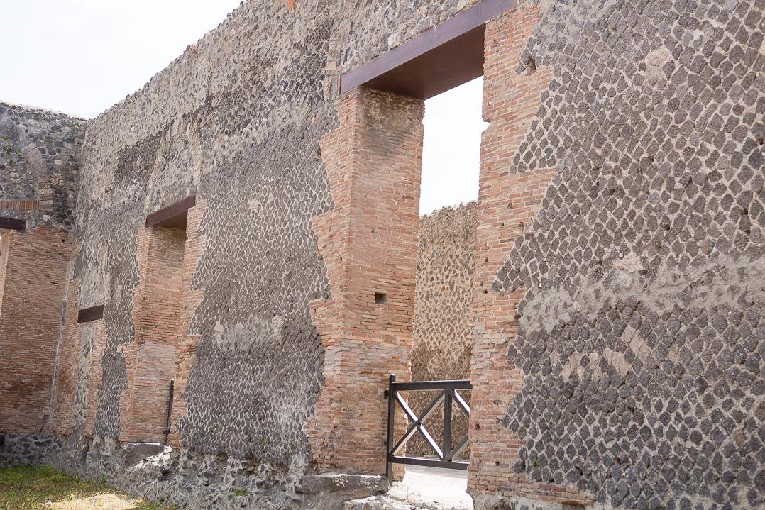 Traveling in Pompeii, Italy.