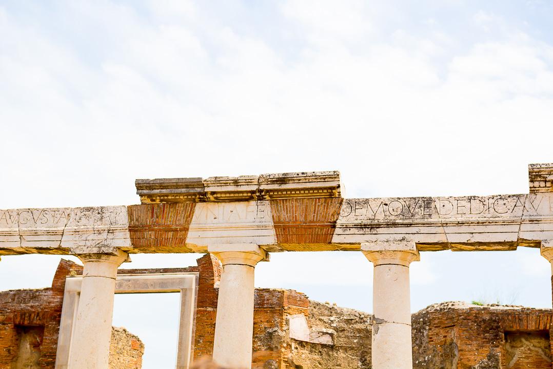 The forum at Pompeii.