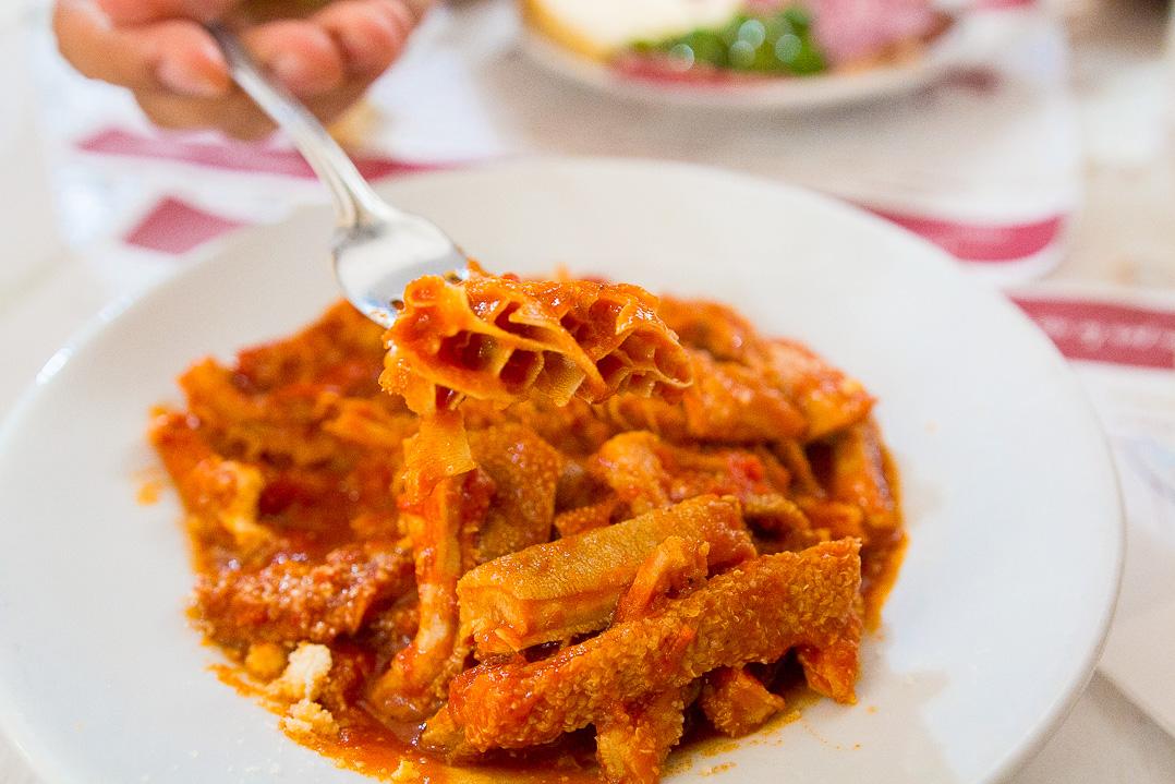 Traditional Italian cuisine. Photography.