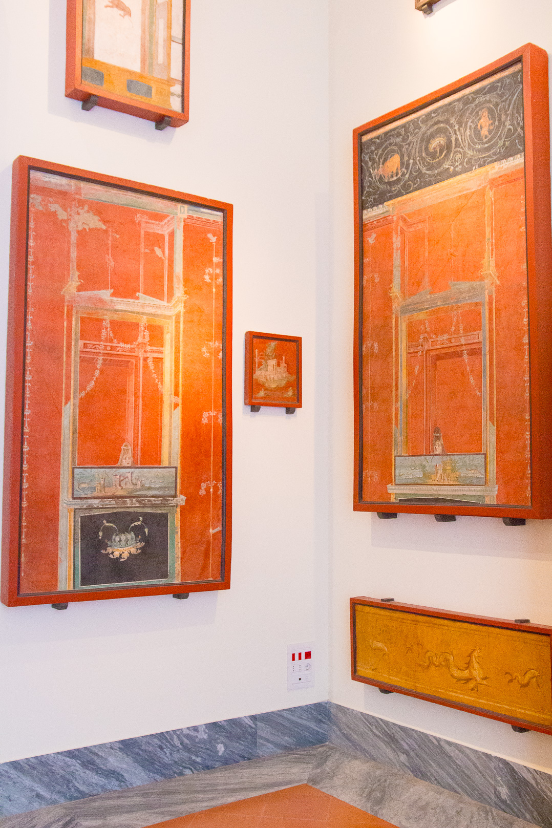 The Archaeological Museum of Naples.