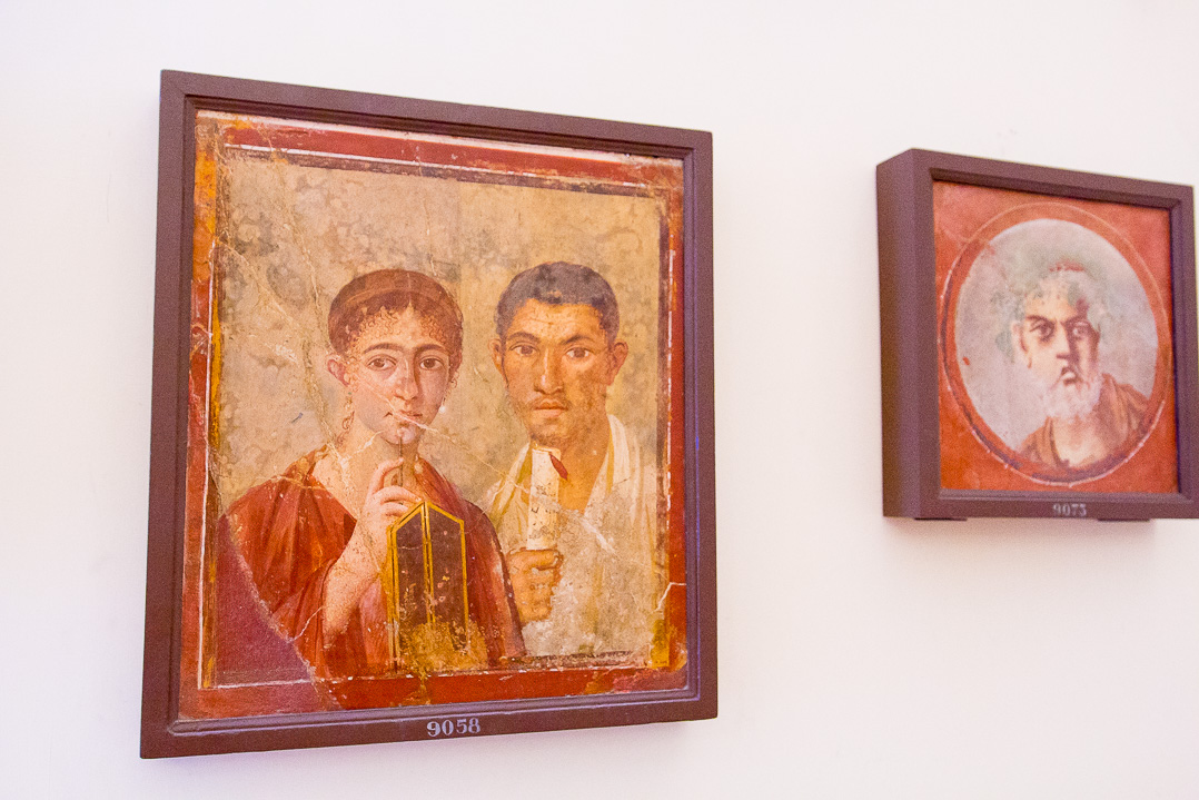 Travel to The Archaeological Museum of Napoli, Italy.