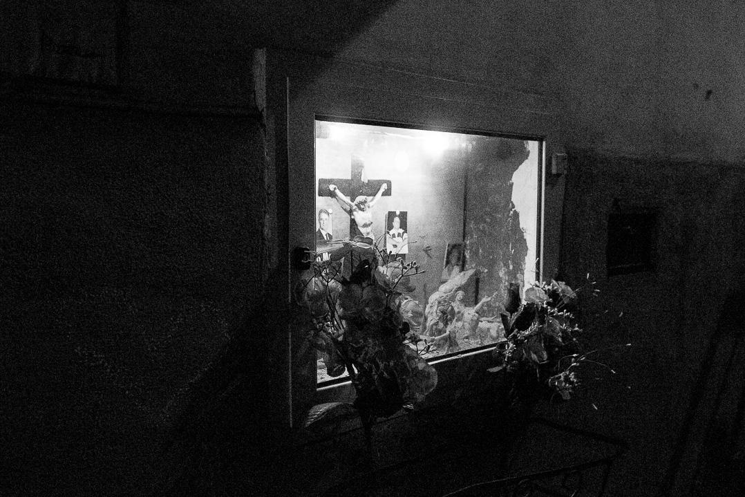 Night street photography Blogger. Napoli.