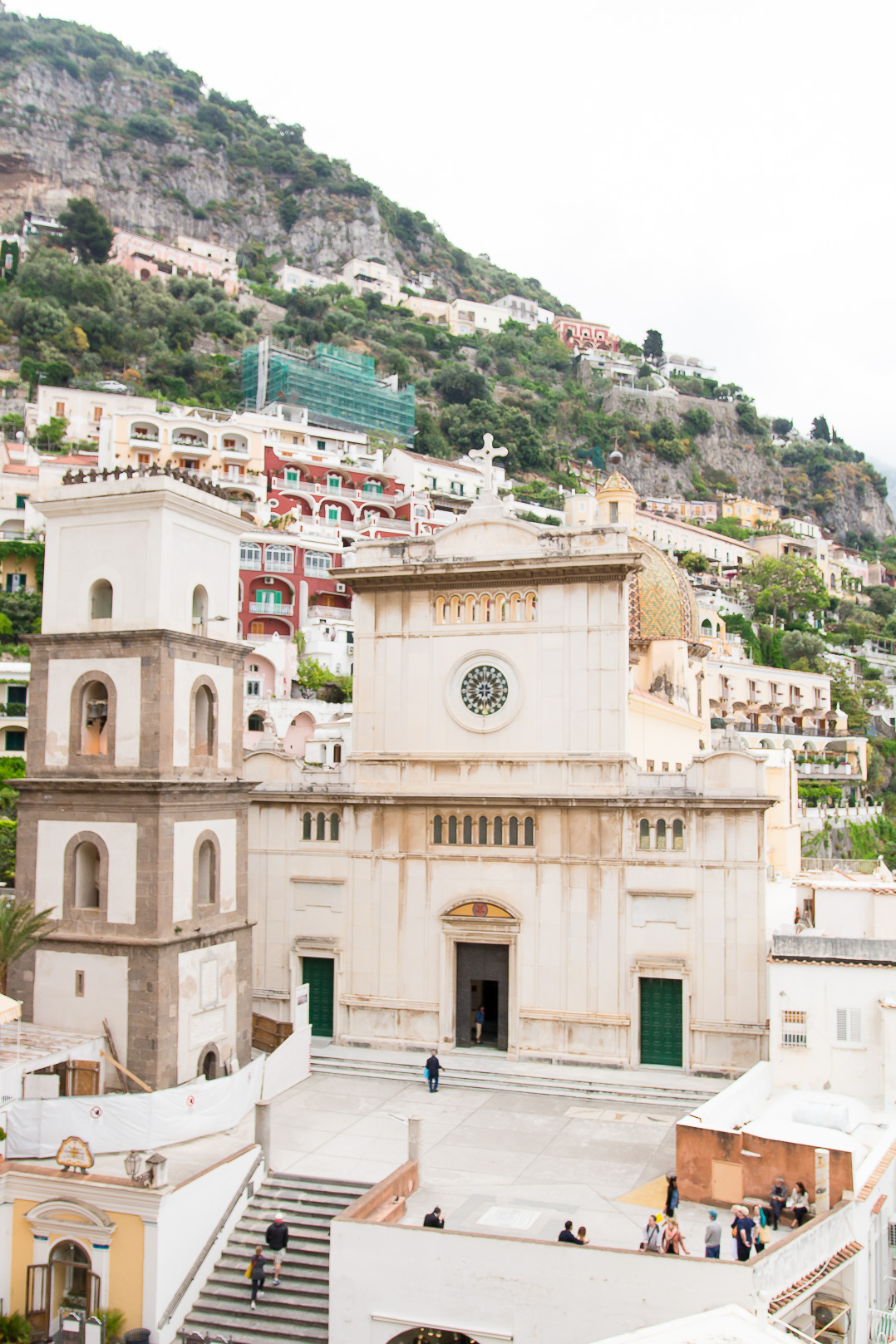 The church in Positano.