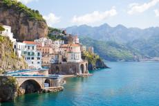 Atrani, just next to Amalfi.