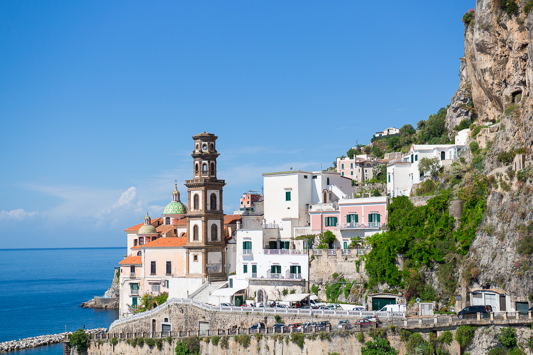Atrani, just next to Amalfi.