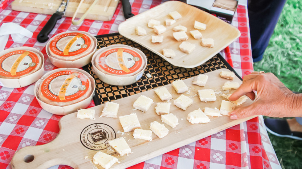 Let's celebrate at Marin French Cheese Company in California. Misscheesemonger.com.