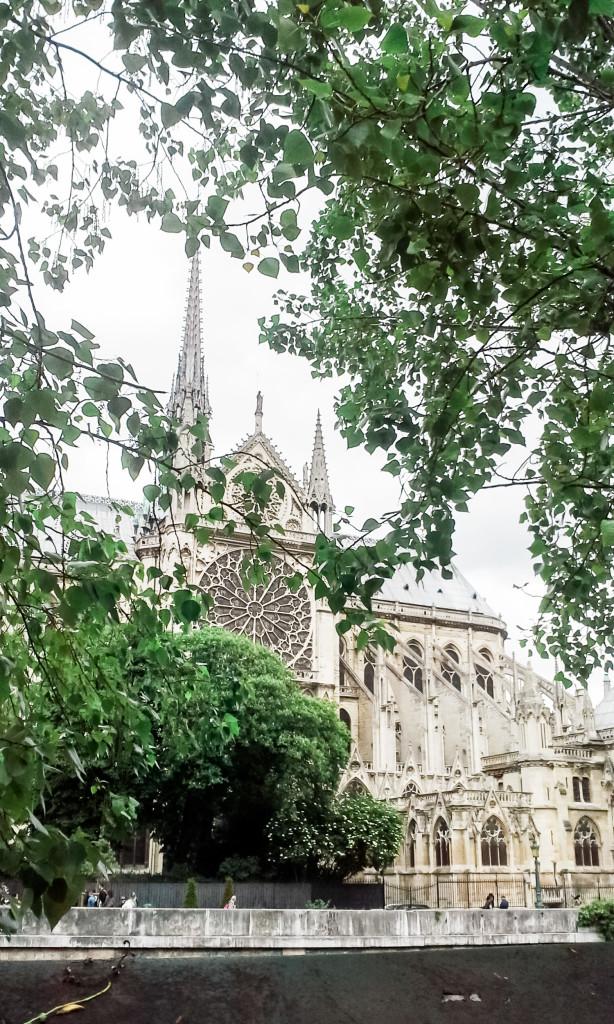 Ah, Notre Dame! Paris. Misscheesemonger.com.