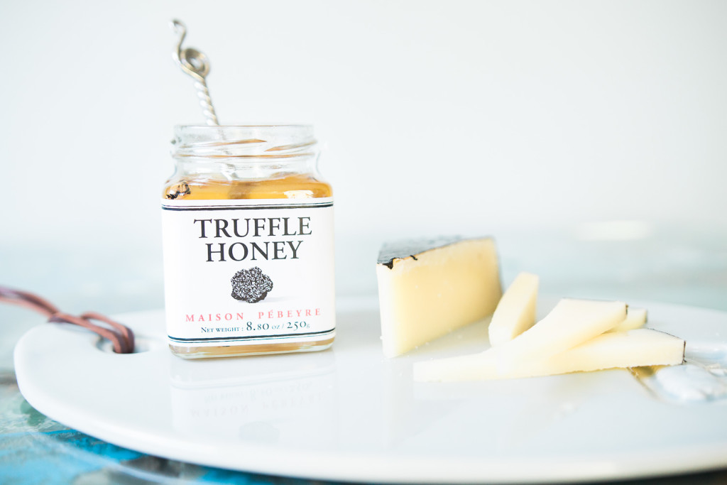 Pébeyre Truffle Honey with Koolputter. Cheese pairing on misscheesemonger.com.