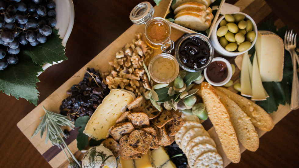 A tasty cheese board and pairing with Lemon Bird Preserves. Misscheesemonger.com.