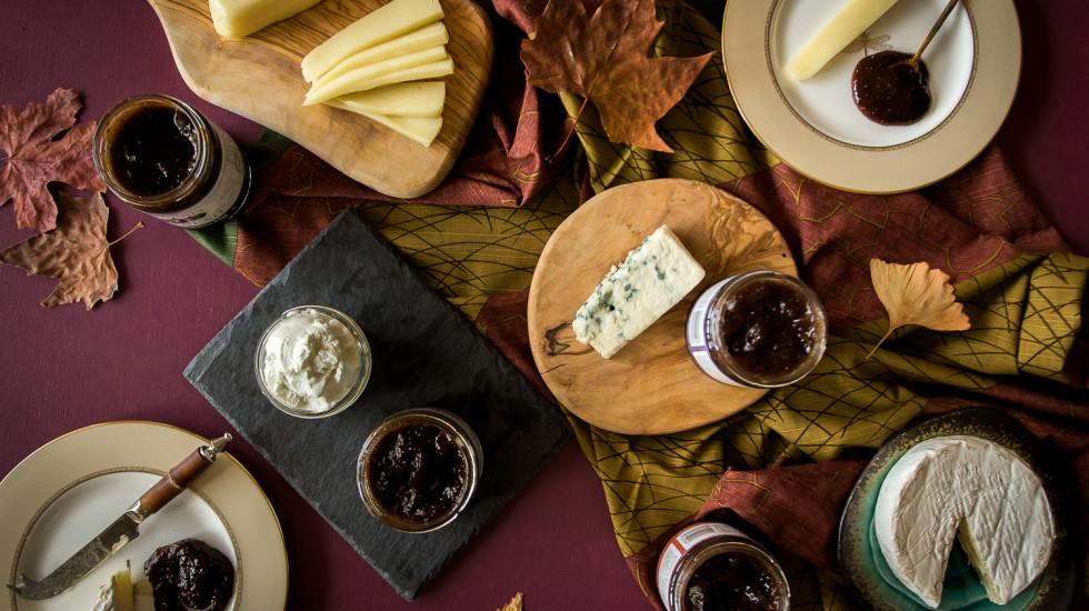 A California cheese and fig jam pairing. misscheesemonger.com.