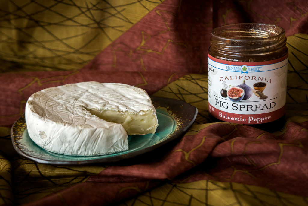 A California cheese and fig jam pairing. misscheesemonger.com.
