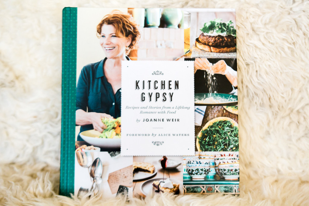 Kitchen Gypsy Cookbook by Joanne Weir. Sweepstakes on misscheesemonger.com.